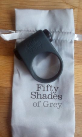 Fifty Shades of Grey Feel it Baby! Vibrating Cock Ring review