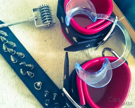 UberKinky Cheek Retractor Dental Mouth Gag Review by Cara Sutra