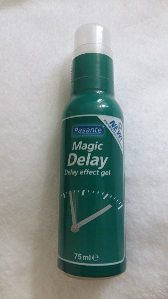 Pasante Magic Delay ejaculation delay gel for men review at Cara Sutra 1