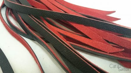 UberKinky Rounded Handle Leather Flogger Review