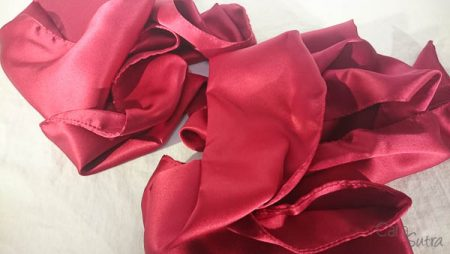 Liberator Red Silk Sashes Review by Cara Sutra Shibari Bondage Restraints