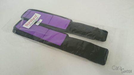 Bondara Wrist To Thigh Bondage Cuffs Review Cara Sutra pleasure Panel chili crimescene