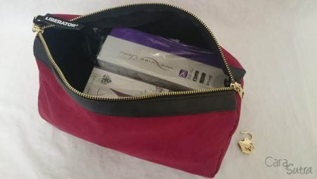 Liberator Tallulah Case Review Lockable Sex Toys Storage Bag
