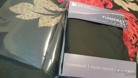 Sheets of San Francisco Black Fitted Fun Sheet Plus Review by Cara Sutra