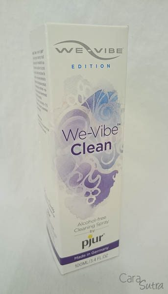 We Vibe By Pjur Sex Toy Cleaner Spray Review Pleasure Panel