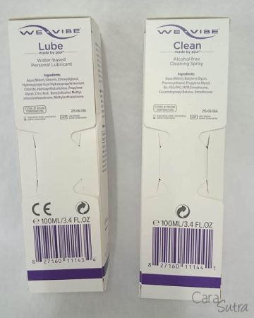 We Vibe By Pjur Water-Based Lube Review