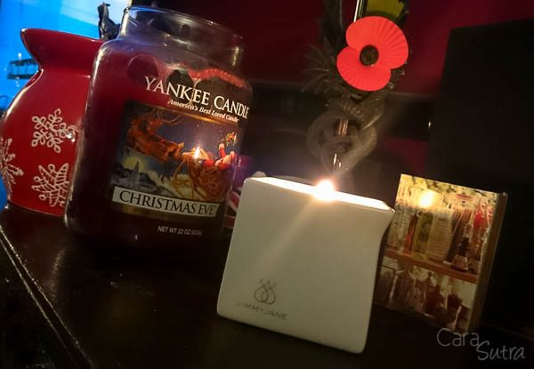 Jimmyjane Afterglow Bourbon Massage Candle Review