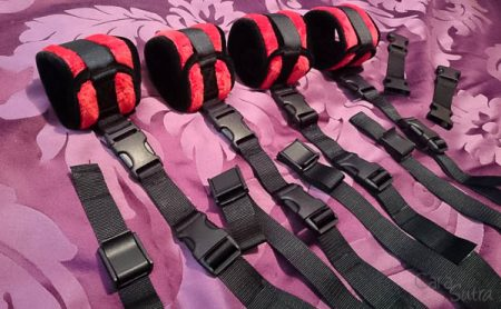 Liberator Plush Seduction Bondage Kit Review by Cara Sutra