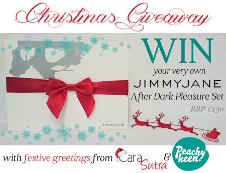 Win The Jimmyjane After Dark Pleasure Set And Have A Peachy Keen Christmas