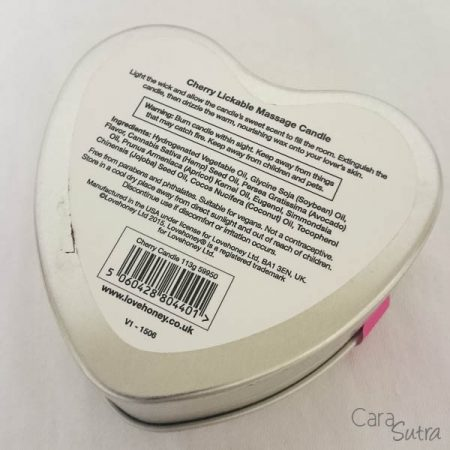Lovehoney Cherry Lickable Massage Candle Pleasure Panel Cara Sutra Review Pinkgilly15