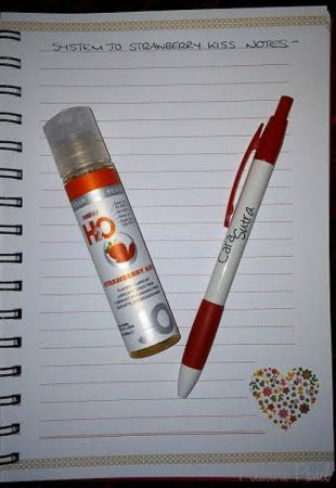 System JO H2O Strawberry Kiss Lube Review