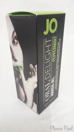 System JO Oral Delight Arousal Gel Peppermint Pleasure Panel Cara Sutra Review