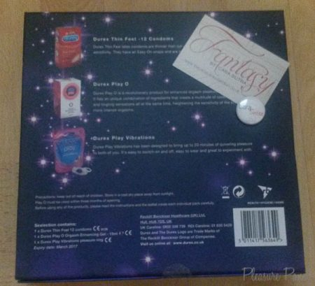 Durex Sexlection Gift Box Review and Sexy Selection Box Reviews