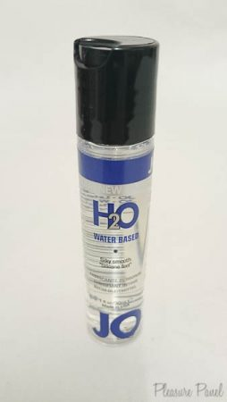System JO H2O Water Based Lube Review Cara Sutra Pleasure Panel