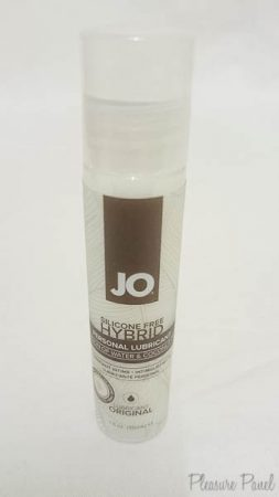 System JO Coconut Oil Hybrid Lube Cara Sutra Pleasure Panel Review