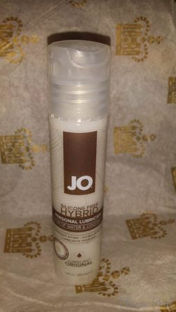 System JO Coconut Oil Hybrid Lube Cara Sutra Pleasure Panel review-1