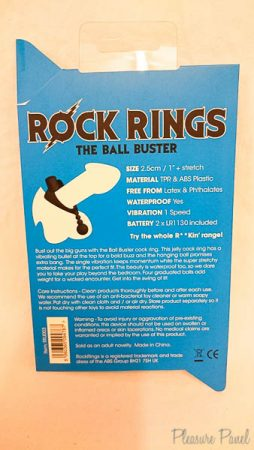 Rock Rings Ball Buster Cock Ring March 2016 Pleasure Panel Review