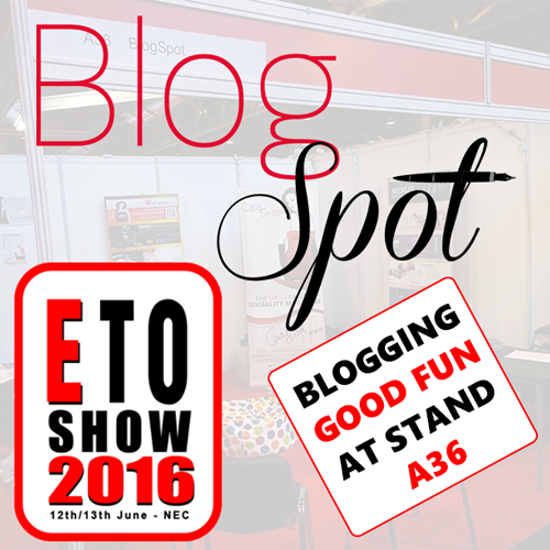 BlogSpot at the ETO Show 2016