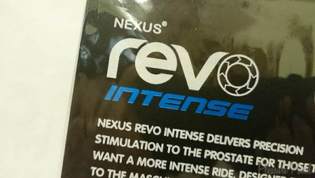 Nexus Revo intense Prostate Massager March 2016 Pleasure Panel Review