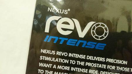 Nexus Revo intense Prostate Massager March 2016 Pleasure Panel Review