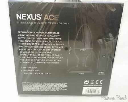 Nexus Ace Large Remote Control Vibrating Butt Plug Review