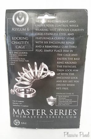 Master Series Asylum Locking Chastity Cage Review