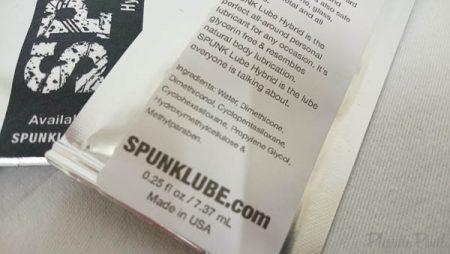 Spunk Lube Hybrid Lubricant Cum Lube Sachets Pleasure Panel March 2016