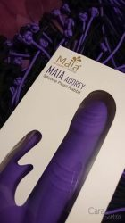 Maia Audrey Silicone Rabbit Vibrator Giveaway Cara Sutra-5