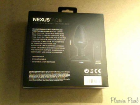Nexus Ace Large Remote Control Butt Plug Review Pleasure Panel-2