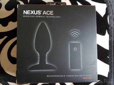 Nexus Ace Medium Remote Control Butt Plug Review Cara Sutra Pleasure Panel-4