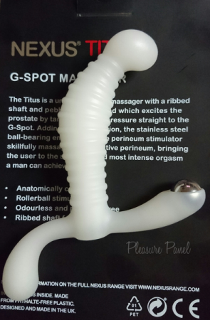 Nexus-Titus-Prostate-Massager-White-Cara-Sutra-Pleasure-Panel-Review