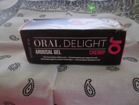 System JO Oral Delight Arousal Gel Cherry Flavour Review Cara Sutra Pleasure Panel-1