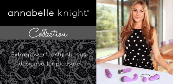 Annabelle Knight vibrators and sex toys at Lovehoney
