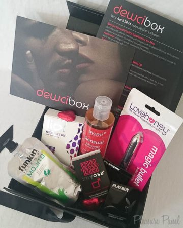 April 2016 DewciBox Sex Toys Subscription Box Review