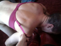 submitting to a Mistress christina slave 2