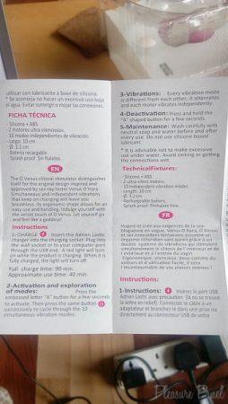 Adrien Lastic O Venus Vibrator Review