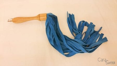 Kink Craft Blue Suede Flogger Review