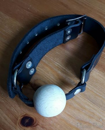 Rimba Wooden Ball Gag with Adjustable Leather Strap Review-2