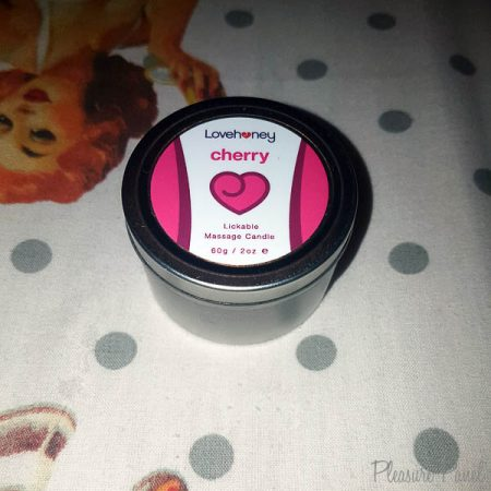 Lovehoney Cherry Lickable Massage Candle Review Pleasure Panel Candy Snatch-2