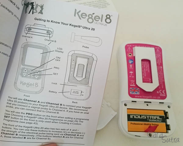 kegel8 ultra 20 instructions