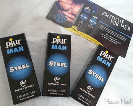 Pjur Man Steel Gel Review