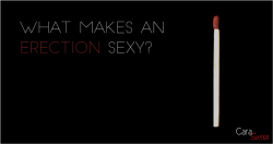 What Makes An Erection Sexy?