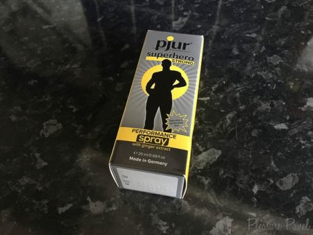 Pjur Superhero Spray Review