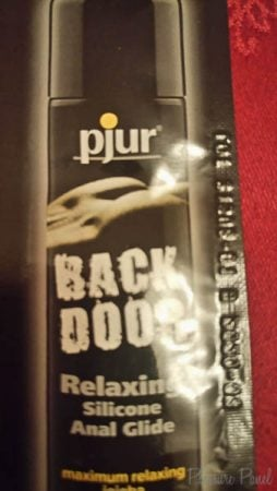 Pjur Back Door Relaxing Silicone Anal Glide Review