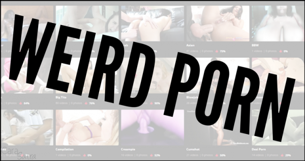 The 10 Weirdest Kinds Of Porn That People Search For