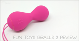 Fun Toys GBalls 2 Review | FT London GBalls 2 With Magic Kegel App