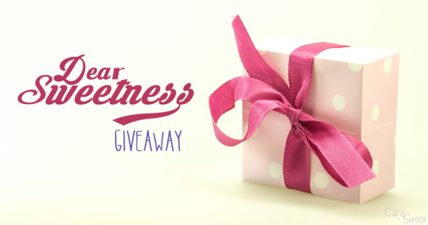 Giveaway Win a £50 Voucher Spend at Dear Sweetness