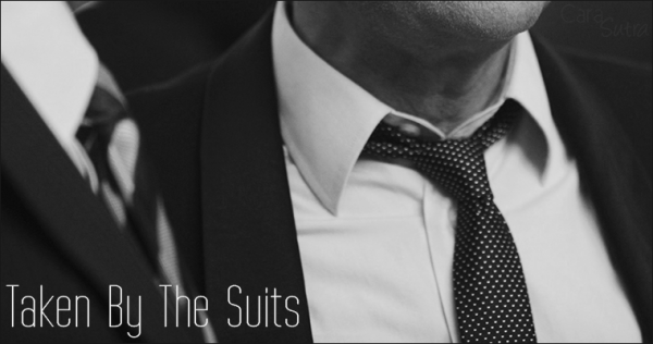 Suit Porn: Taken By The Suits | Exhibitionism and Gang-Bang Erotica