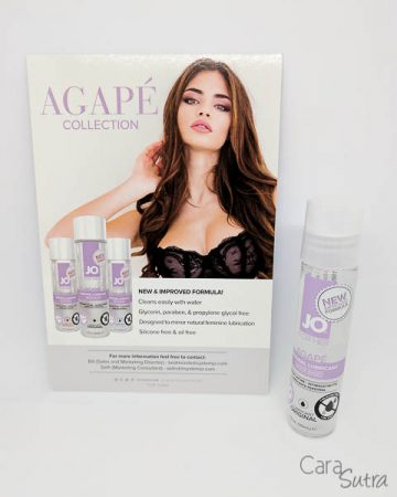 System JO Agapé Glycerine Free Water Based Lube Review