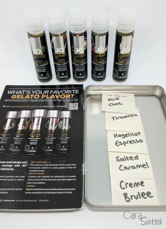 System JO Gelato Flavoured Lubes Review